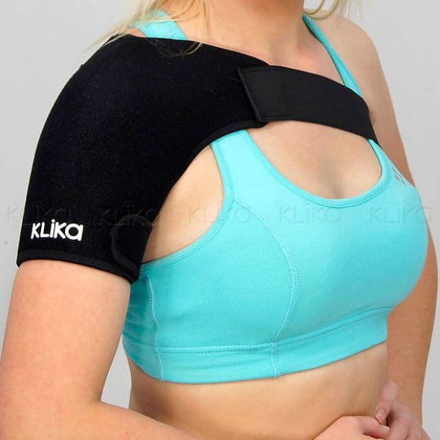 Shoulder sports injury compression support
