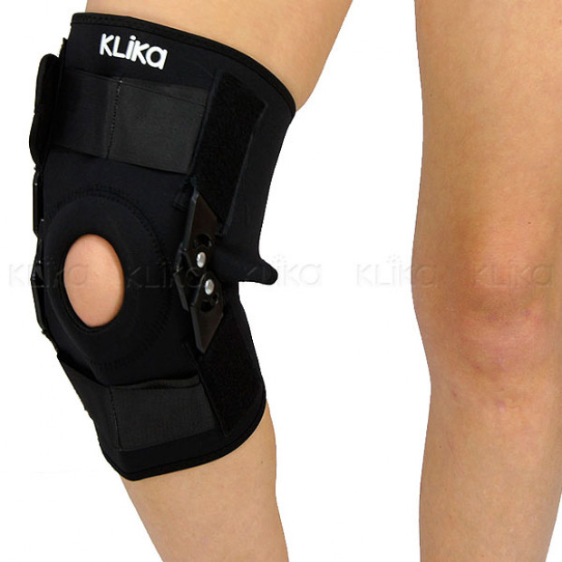 Knee brace sports injury compression support
