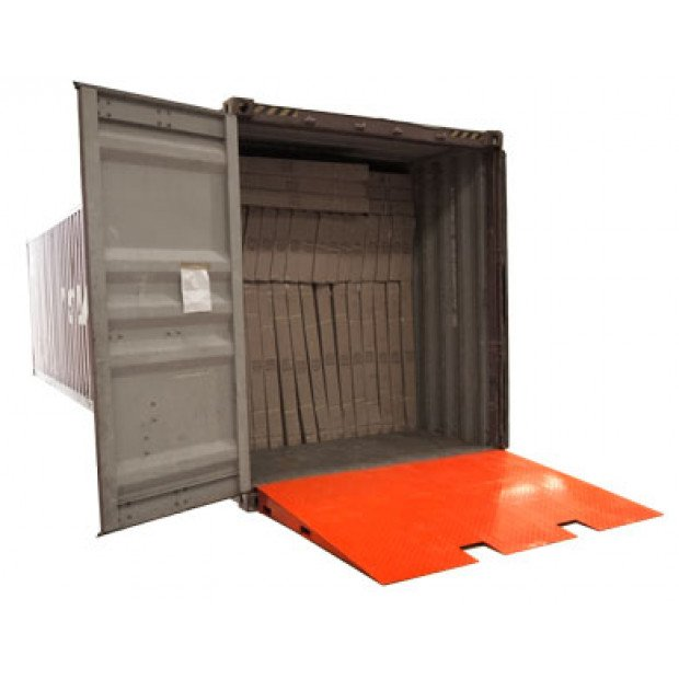 8T Cargo shipping container loading ramp