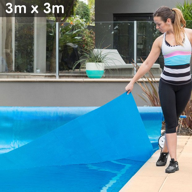 Swimming Pool spa solar cover 3 x 3m