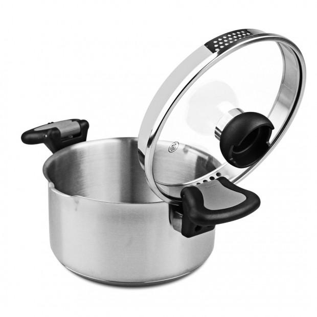 Aron 6pcs Non-stick Casserole Insulated Saucepan Stock Pot Image 3