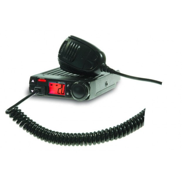 Crystal Mobile - 5W Compact in Car UHF CB Radio
