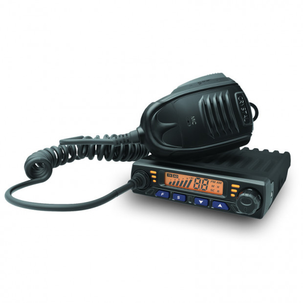 Crystal Mobile - 5W Super Compact in Car UHF CB Radio