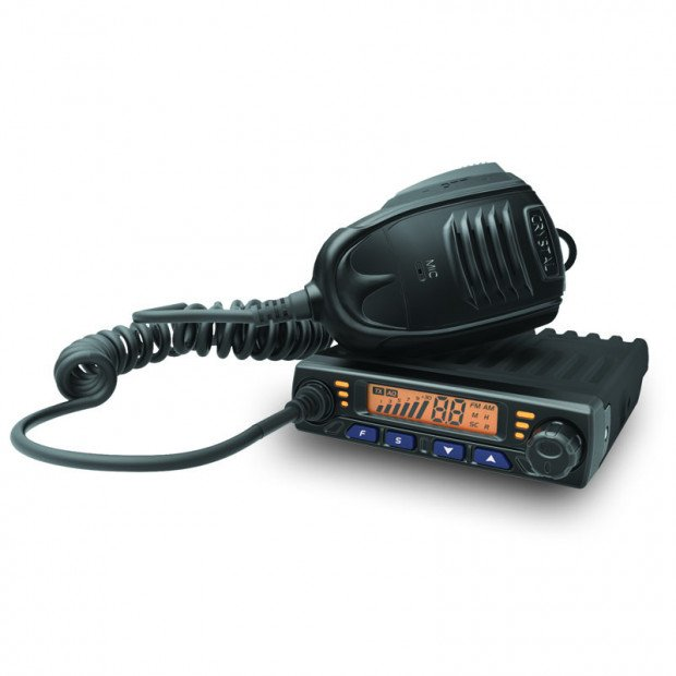 Crystal Mobile - 5W Super Compact in Car UHF CB Radio with 6DBi Antenna