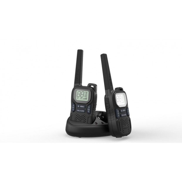 Crystal Mobile - 2W Handheld UHF CB Radio - Twin Pack - DBH20R