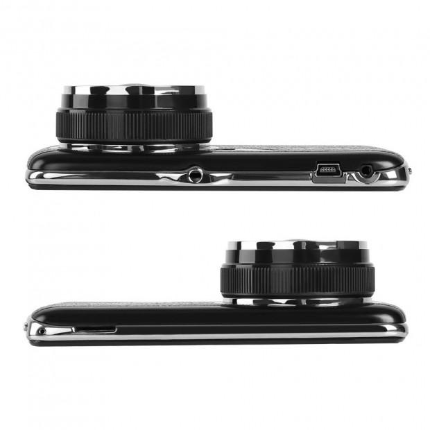 UL Tech 4 Inch Dual Camera Dash Camera - Black Image 6