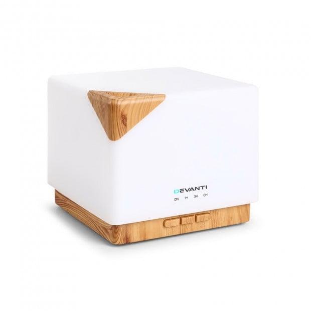 Aroma Diffuser Air Humidifier Night Light 600ml
