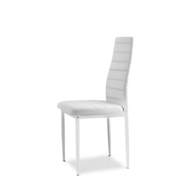 5 Piece Dining Table Chair Set - White Image 2