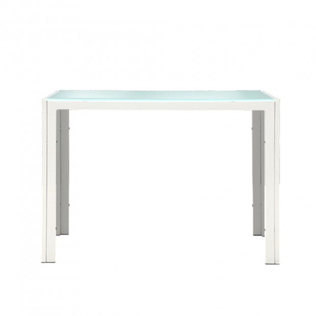 5 Piece Dining Table Chair Set - White Image 4