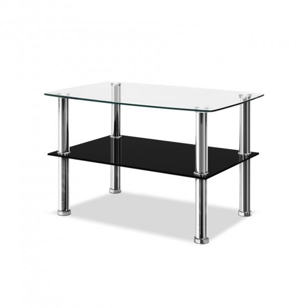 Dumor 90cm Glass Coffee Table
