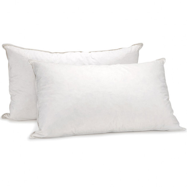 Duck Feather Down Pillows Set Image 5