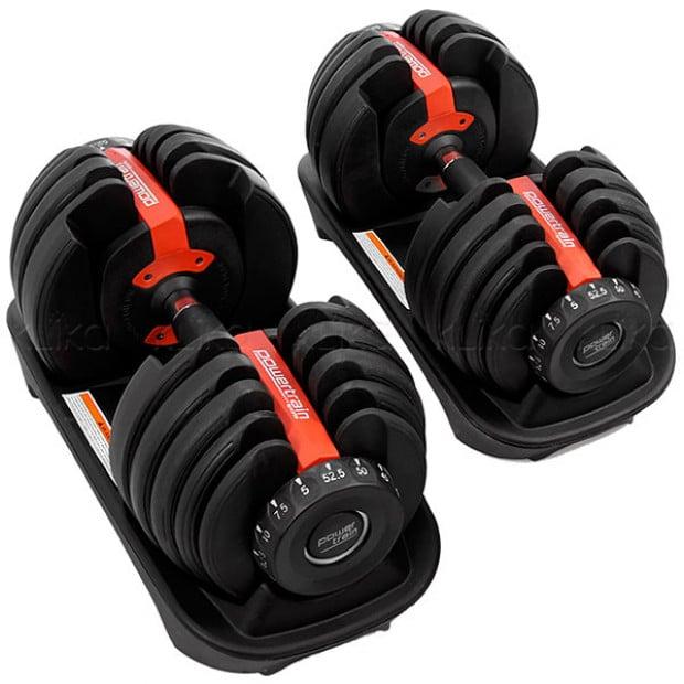 Powertrain Adjustable Dumbbell Set - 48kg