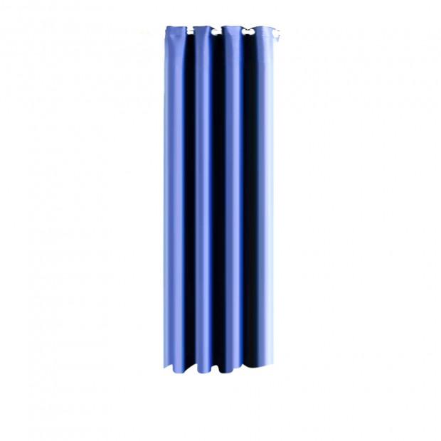 Single Panel Blockout Curtains Panels Blue 180x230cm