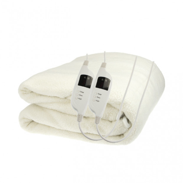 Fleecy Computer Control Electric Blanket - Queen