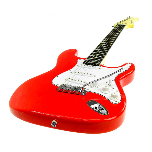 Full Size Electric Guitar  - Red Image 2