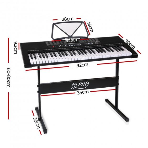 61-Key Electronic Keyboard EK-63 Image 1