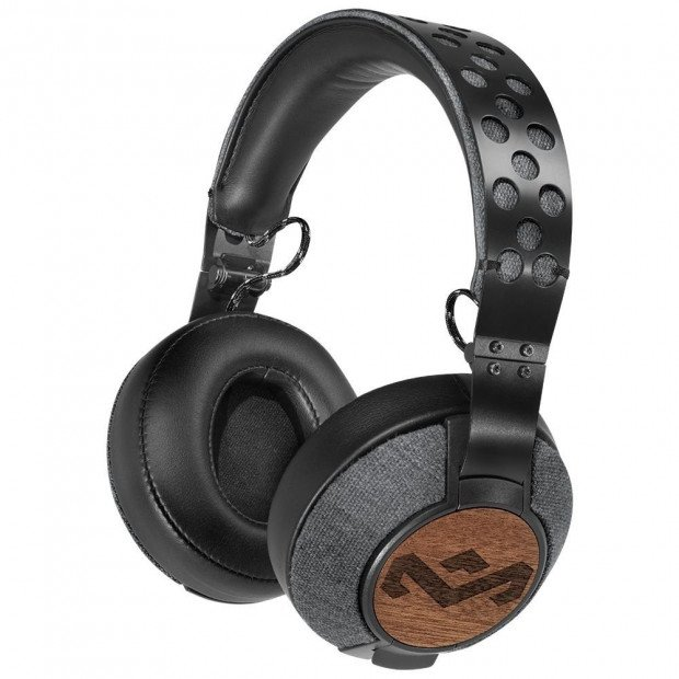 House of Marley Liberate XL On Ear Headphones- Midnight