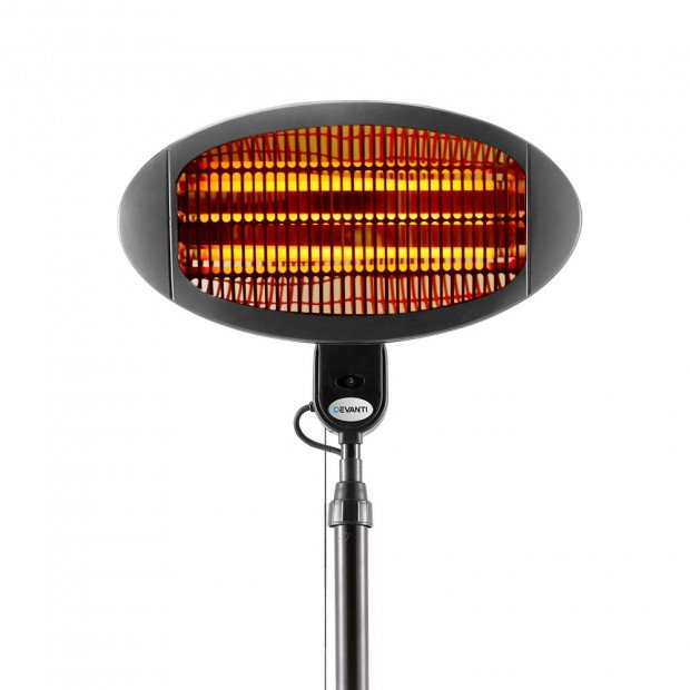 2000W Electric Portable Patio Strip Heater Image 6