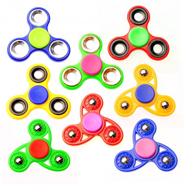 Fidget Spinner Tri-Hand Stress Relief Toy