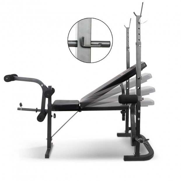 7-in-1 Multi-Station Home Weight Bench Image 6