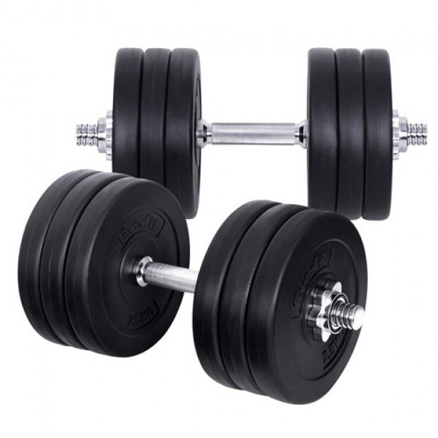 35kg Fitness Gym Exercise Dumbbell Set Image 4