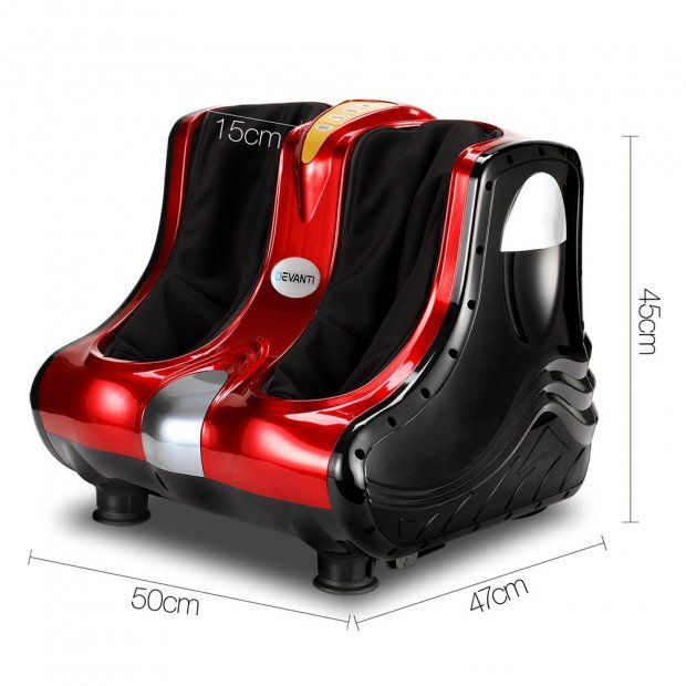Calf & Foot Massager - Red Image 1