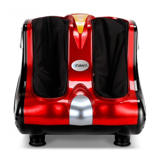 Calf & Foot Massager - Red Image 2