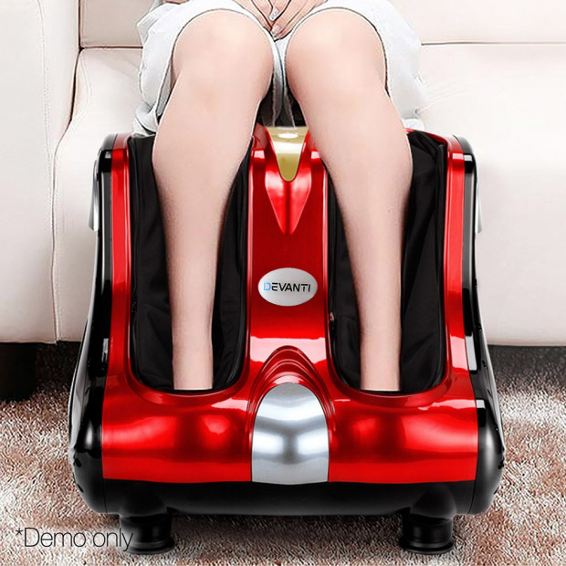Calf & Foot Massager - Red Image 11
