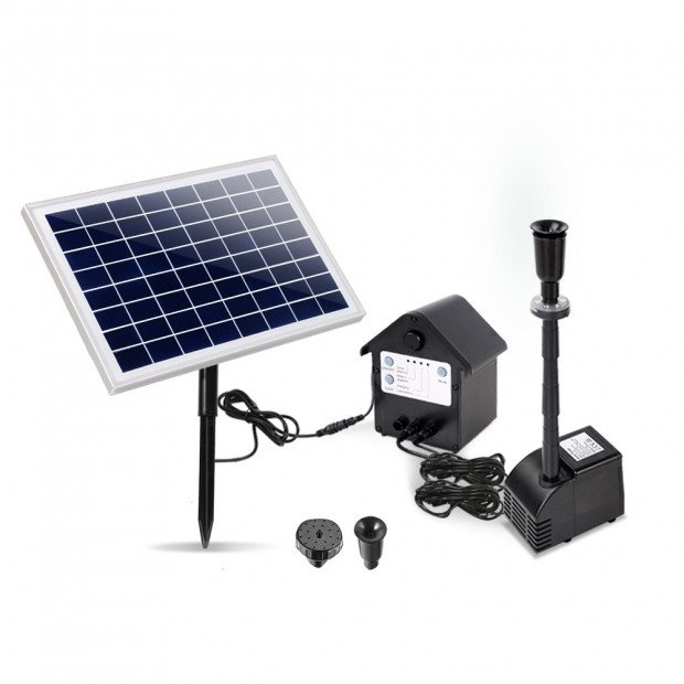 Solar Powered Water Pump for Ponds 60W with Battery Backup