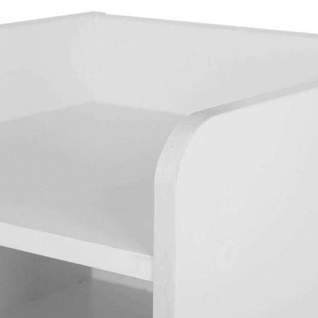 Bedside Table Drawer - White Image 5