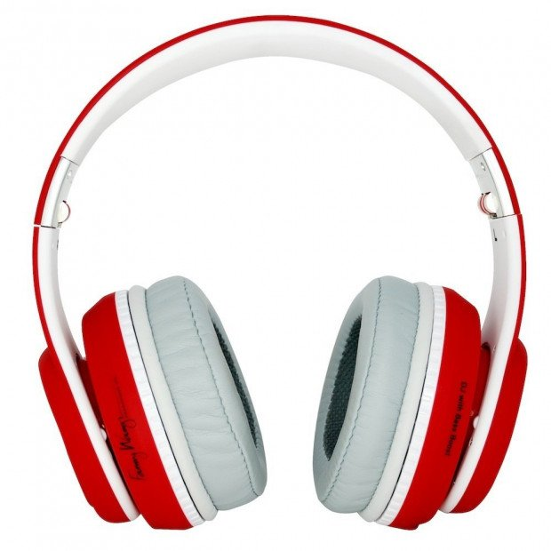 Fanny Wang 2000 Series Over Ear DJ Headphones - Red Image 3