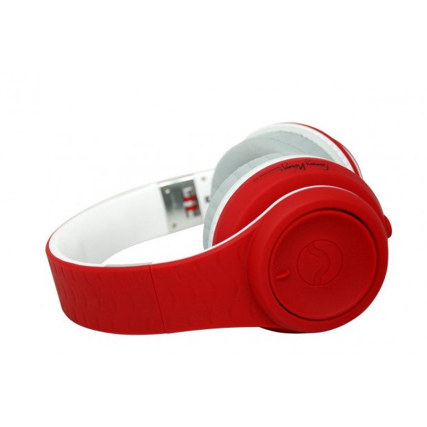 Fanny Wang 2000 Series Over Ear DJ Headphones - Red Image 6