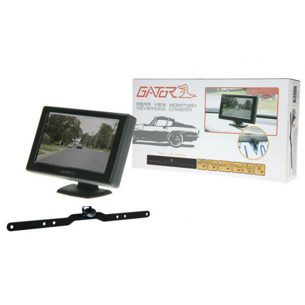 Gator 4.3in Reverse Monitor Camera Kit Wired