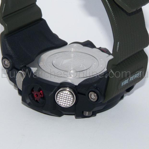 CASIO G-Shock Black/Green Solar Mudmaster Mens Watch GWG-1000-1A3DR Image 4