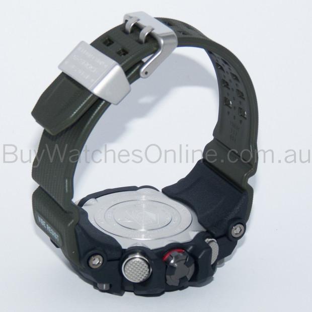 CASIO G-Shock Black/Green Solar Mudmaster Mens Watch GWG-1000-1A3DR Image 5