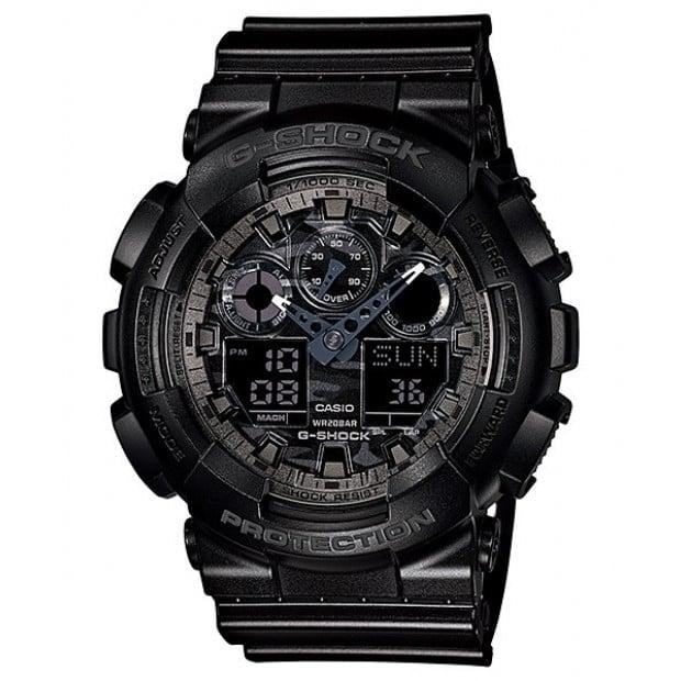 Casio G-Shock Analogue/Digital Mens Camouflage Black Watch...