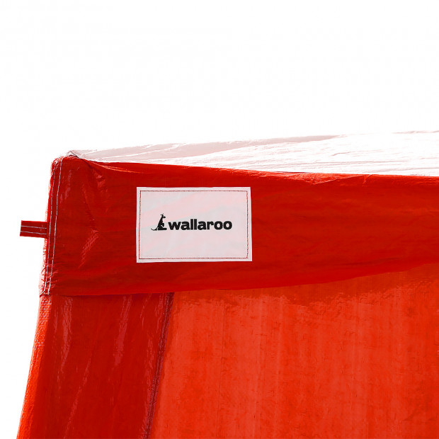 Wallaroo Premium 4x8 outdoor event marquee Red+White