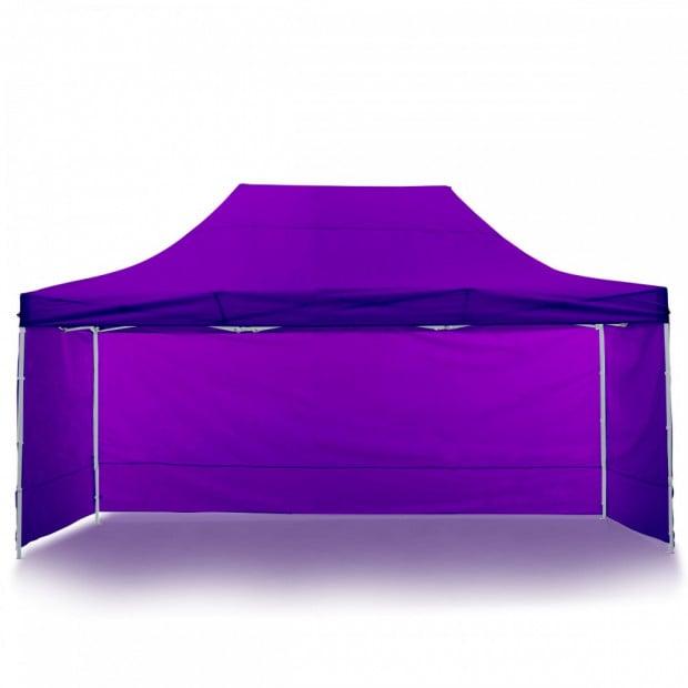 Wallaroo 3x4.5m Popup Gazebo Purple