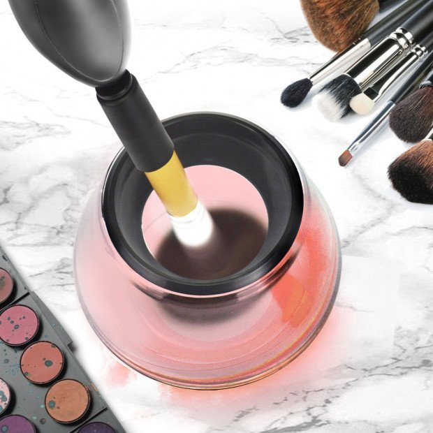Electric Makeup Brush Auto Cleaner & Dryer