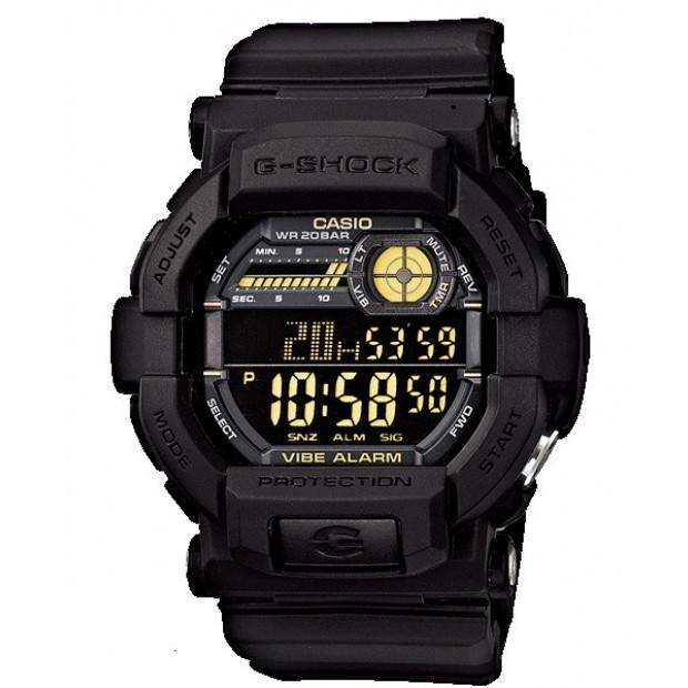 Casio G-Shock Digital  Mens Black Watch GD-350-1BDR