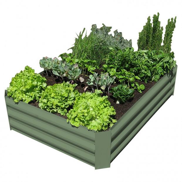 Garden Bed - Eucalypt Green