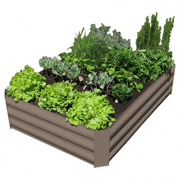 Garden Bed - Stone Brown