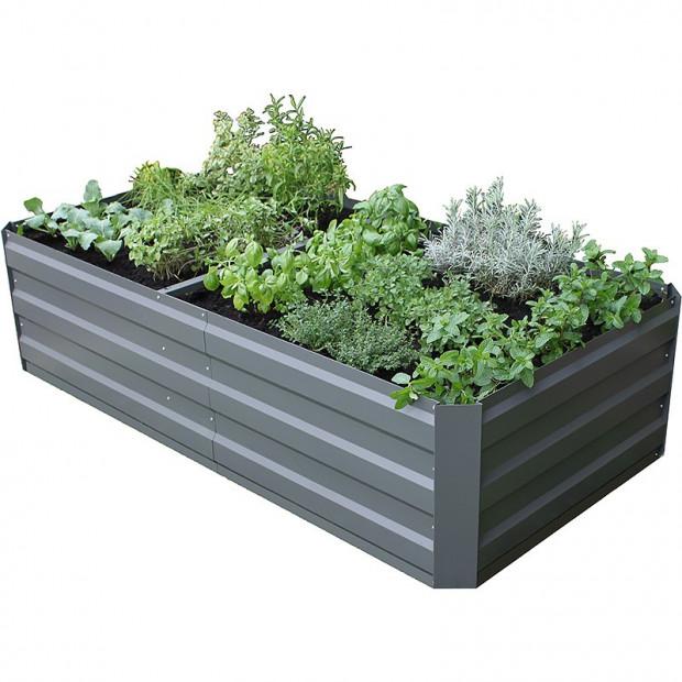 Garden Bed Internal braces - Slate Grey