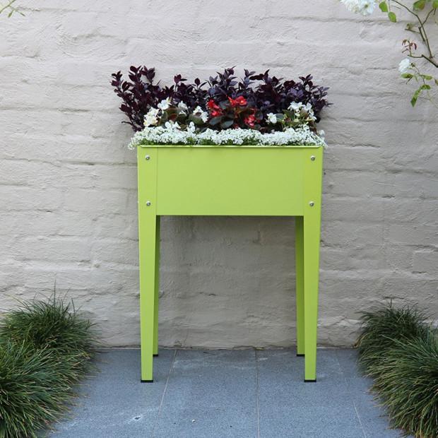 Mini Raised Garden Planter - Fresh Lime