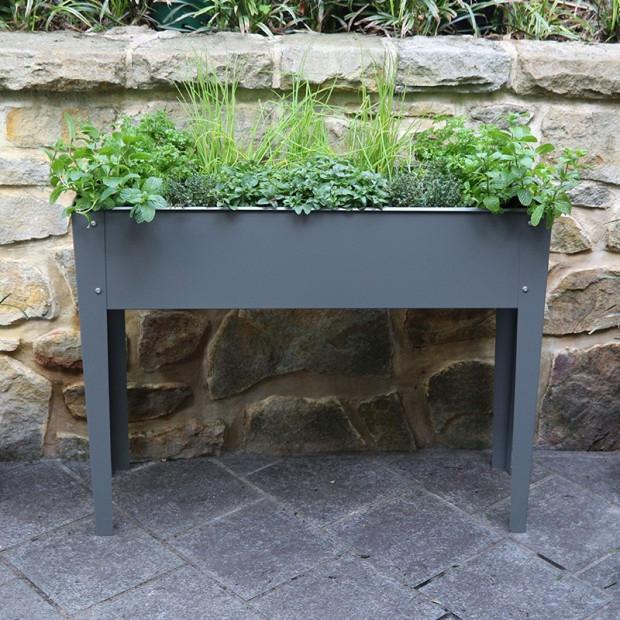 Raised Planter - Slate Grey