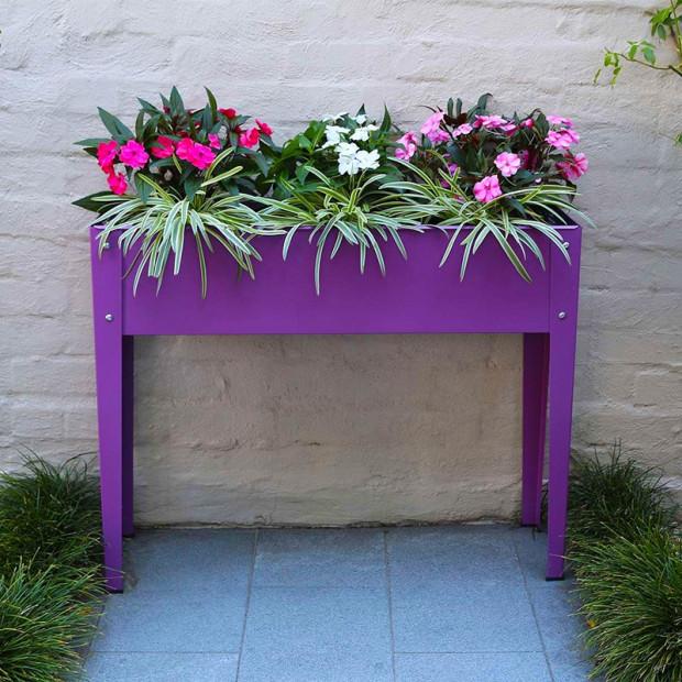 Raised Planter - Vivid Purple