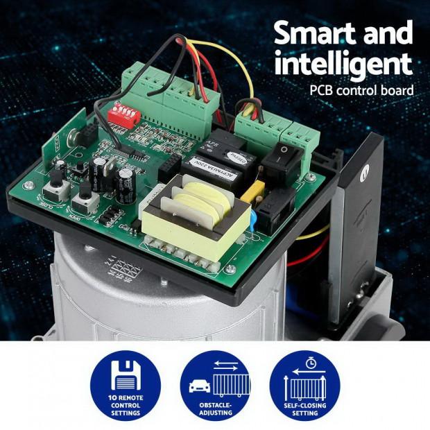 Electric Sliding Gate Opener 1200KG With Hardware Kit 4M Rail Image 4
