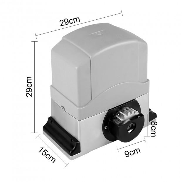 Motor Powered Auto Sliding Gate Opener w/ 6m Rail Image 1