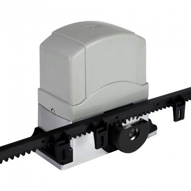 Motor Powered Auto Sliding Gate Opener w/ 6m Rail Image 4