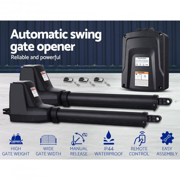 LockMaster Swing Gate Opener  Automatic Electric Kit Remote Control Image 2